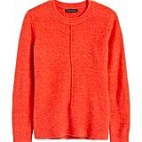 Merino-Blend Boxy Sweater