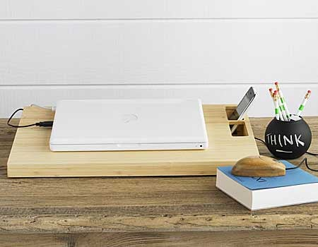 Bamboo Laptop Stand and Mouse From Viva Terra