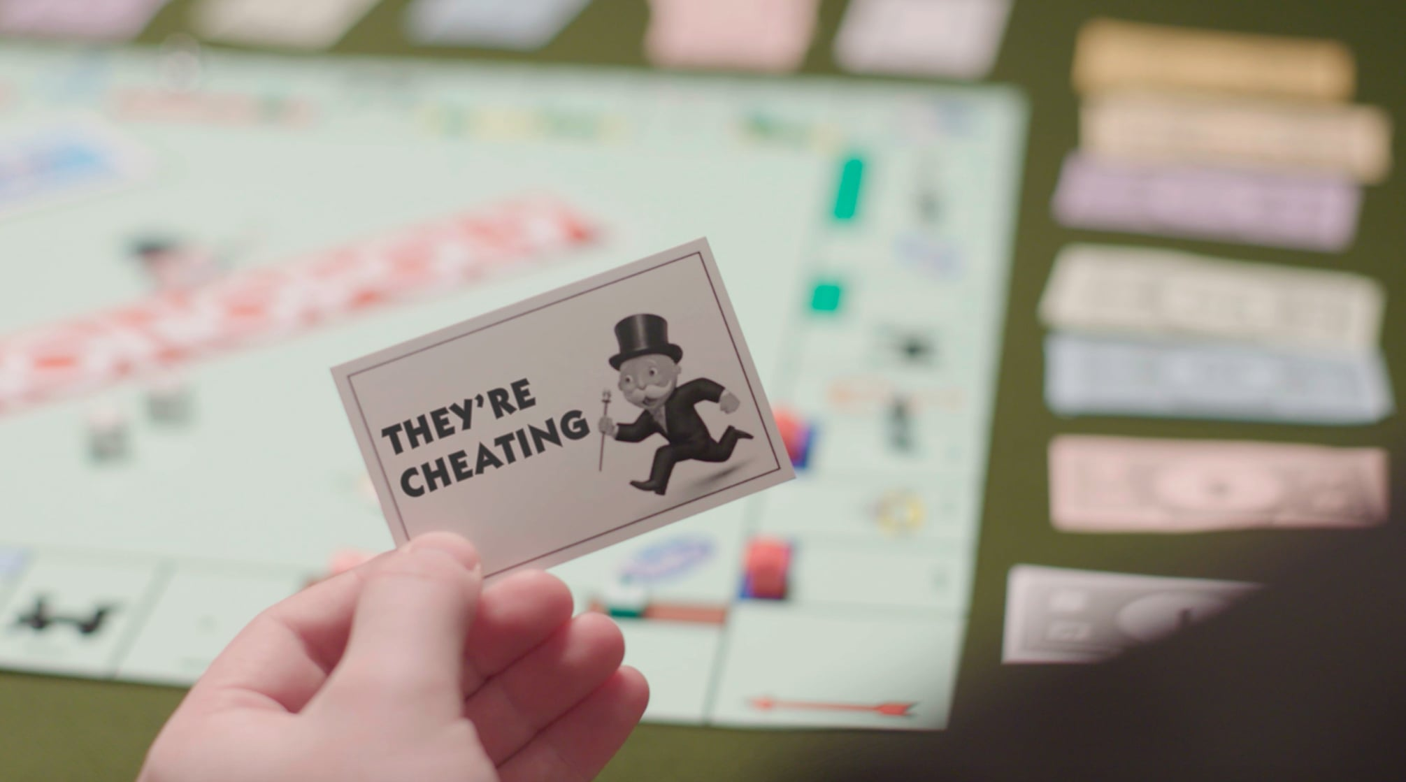 monopoly cheatbot to report cheaters | popsugar moms