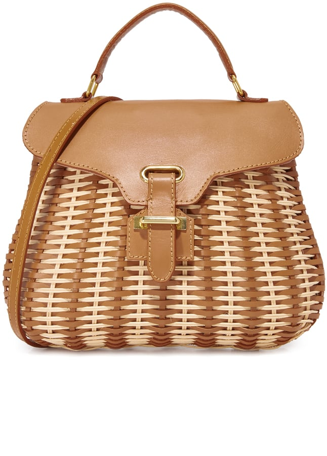 This Serpui Marie Kesha bag ($432) is equal parts sophisticated and adorable.