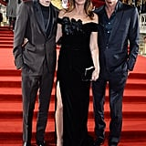 Presley Gerber, Cindy Crawford, and Rande Gerber