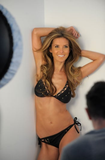 Audrina Patridge posed in a skimpy bikini in the ads for Bongo's Spring campaign. Pop US got a look at behind-the-scenes photos from the shoot, where she donned multiple outfits and cuddled up to her cute new dog, Lady. Audrina was last in the spotlight for the brand when she got sexy for their Fall '10 line. Her time in front of the cameras will continue as she films her new reality show while her former The Hills co-star, Lauren Conrad, gets to work on her own series.