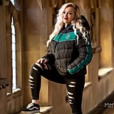 Premium Slytherin Padded Jacket