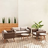 Bari Chateau 5-Piece Patio Collection With Cushions
