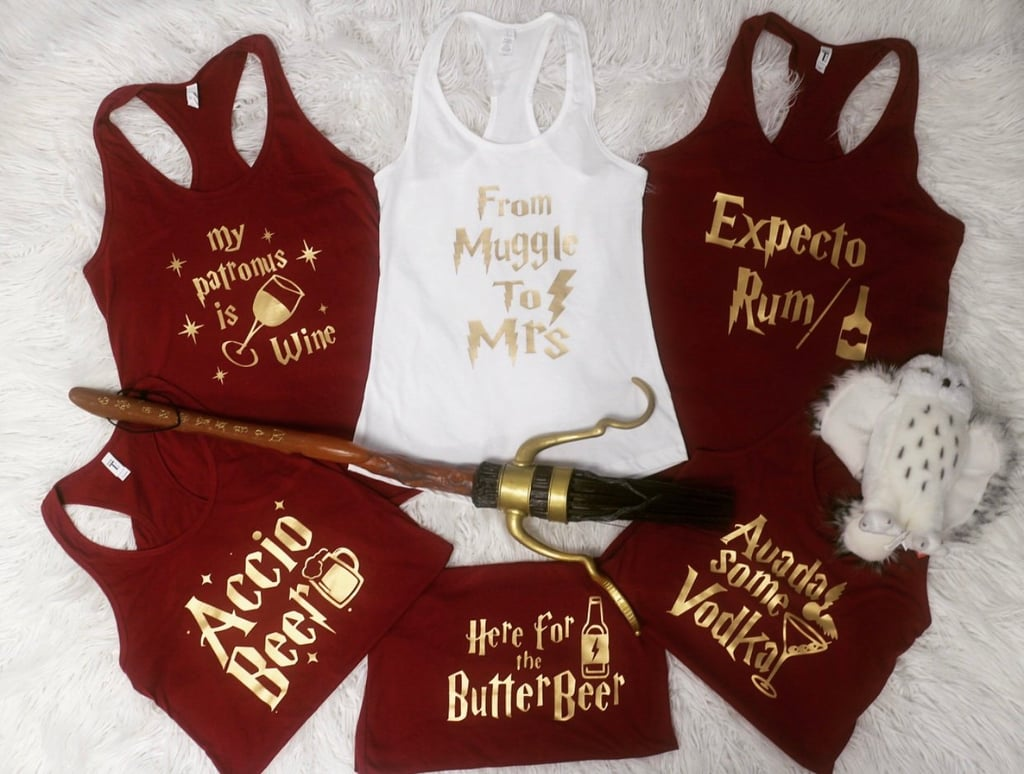 Harry Potter Bachelorette Tank Tops