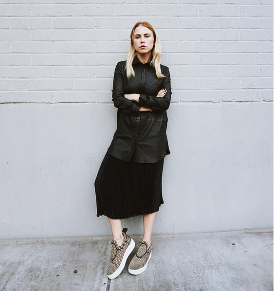 Make Sneakers the Focal Point of Your Entire Look