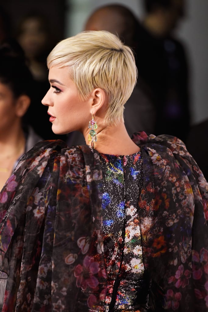 Katy Perry With a Pixie Cut