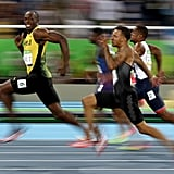 August 14: Jamaica's Usain Bolt wins the Men's 100-metre semi-final on day nine of the Rio Olympics.