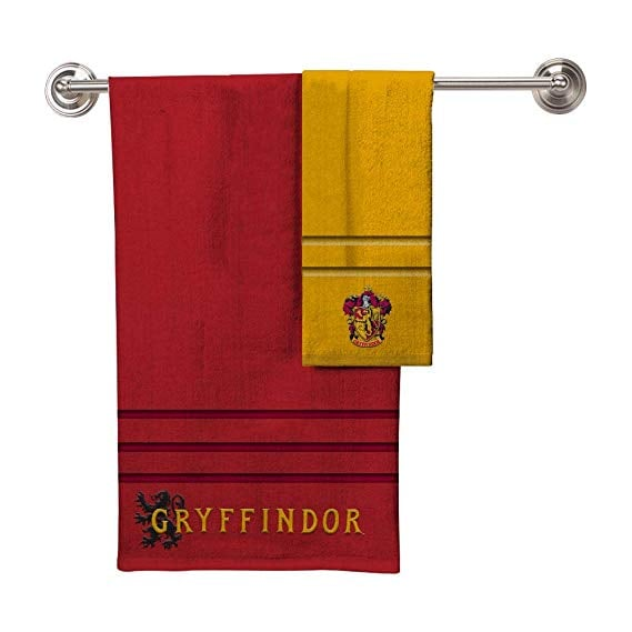 Robe Factory Harry Potter Hogwarts Bath Towel Hand Towels