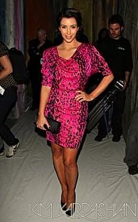 Kim Kardashian in Tracy Reese