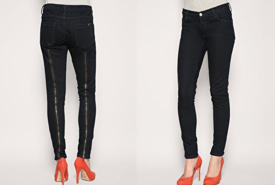 Zip Back Skinny Jeans by Reiss for Spring 2010