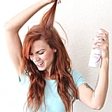 Extend your blowout with dry shampoo