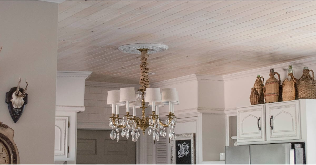 How To Get Rid Of A Popcorn Ceiling Popsugar Home