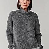 Cos Moss-Stitched Alpaca-Yak Sweater