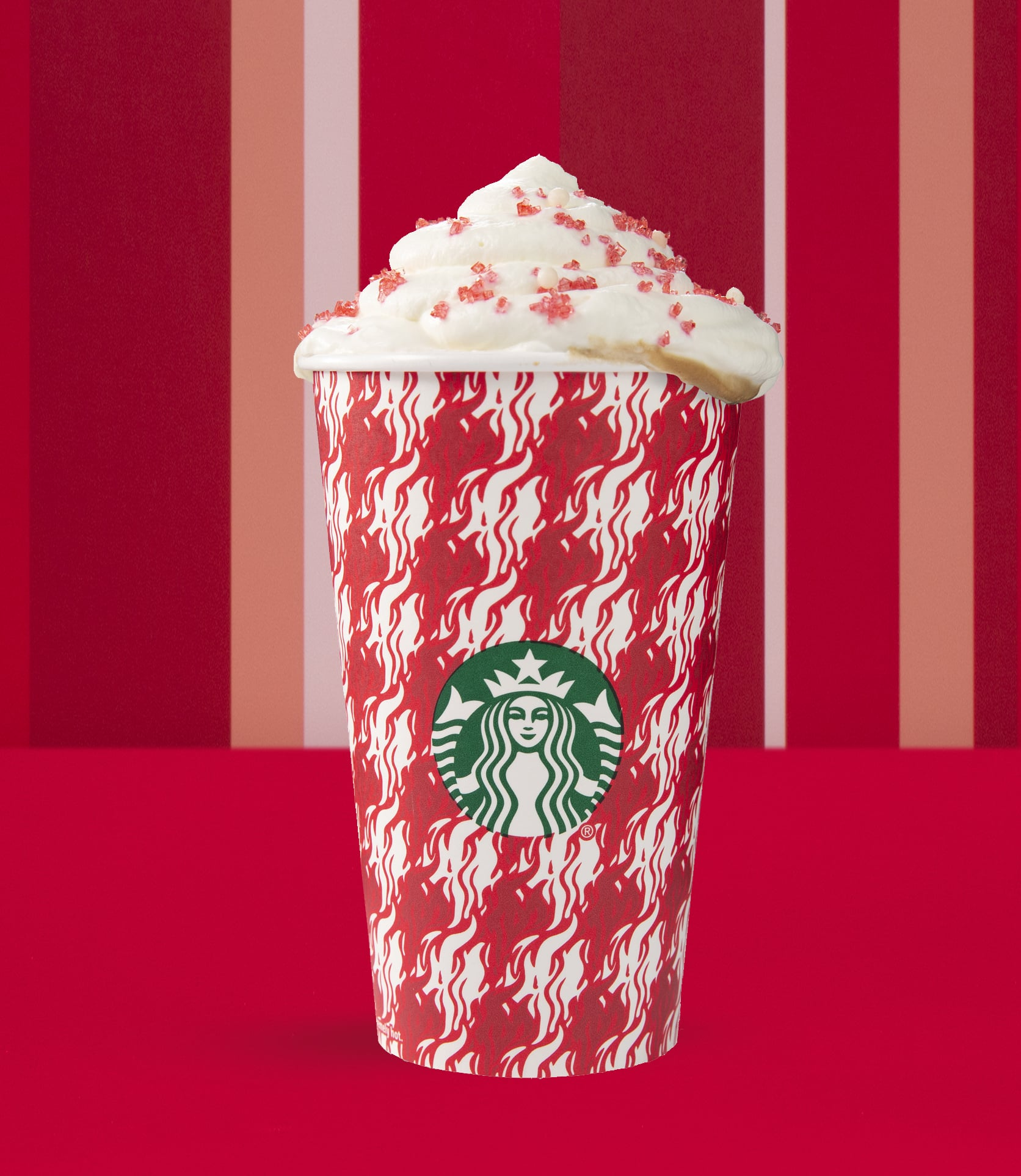 Toasted White Chocolate Mocha Starbucks S Crazy International Holiday Drinks Will Make You Say Peppermint Mocha Who Popsugar Food Photo 14