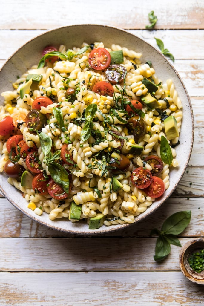 Corn, Tomato, and Avocado Pasta Salad
