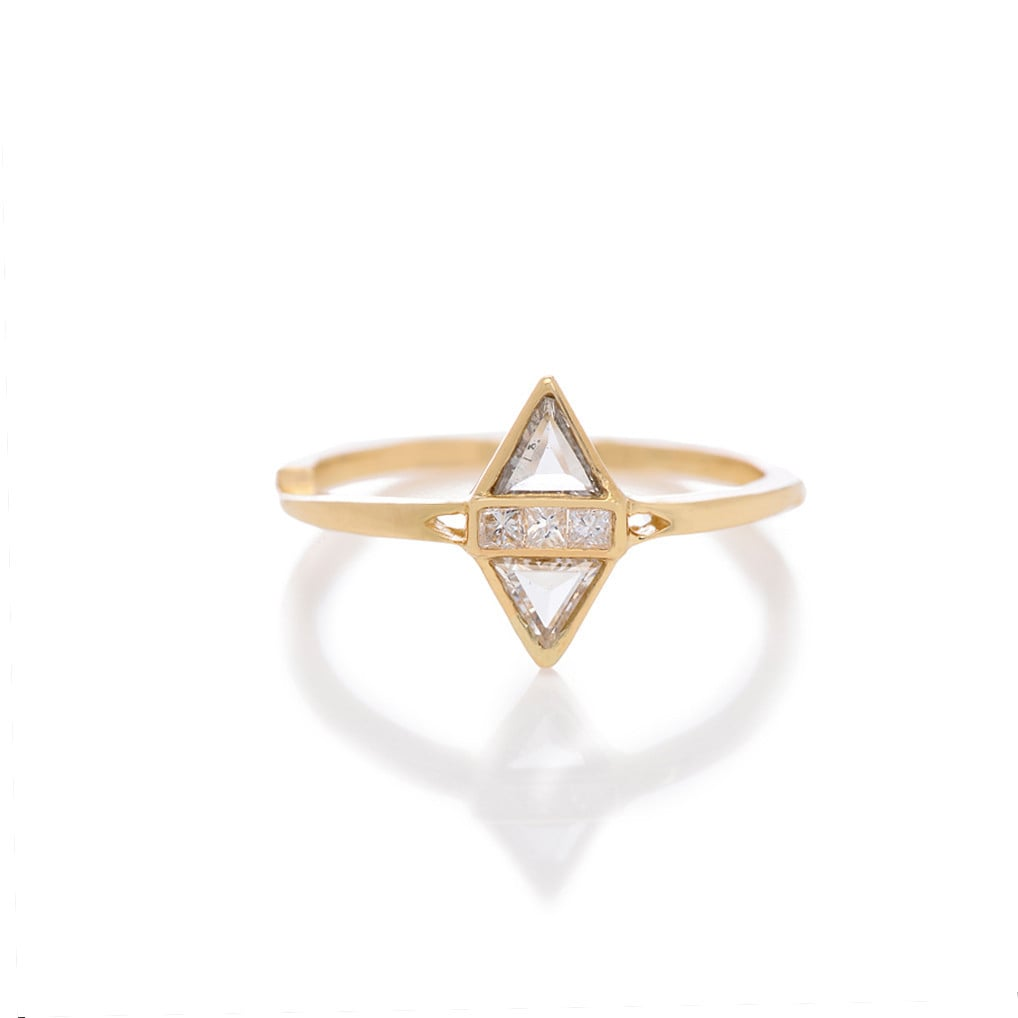T Kahres Split Love Ring ($2,092)