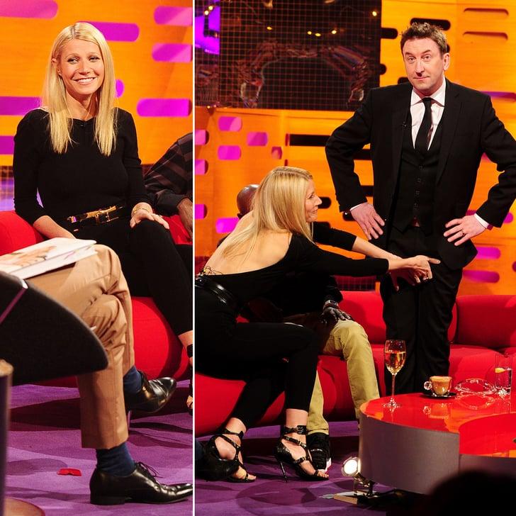 Gwyneth Paltrow Gets Grab-Happy on The Graham Norton Show