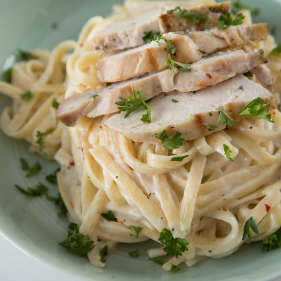 Guilt-Free Creamy Alfredo Chicken!