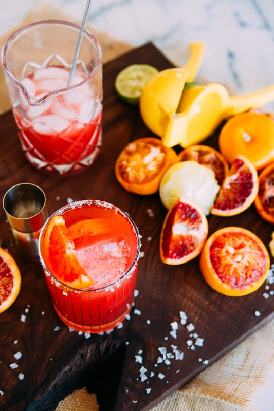 Ginger Blood Orange Margarita