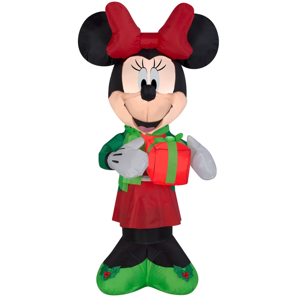 Inflatable Minnie With Present | Best Christmas Inflatables 2018 ...