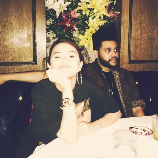Selena Gomez and The Weeknd Instagram Picture September 2017