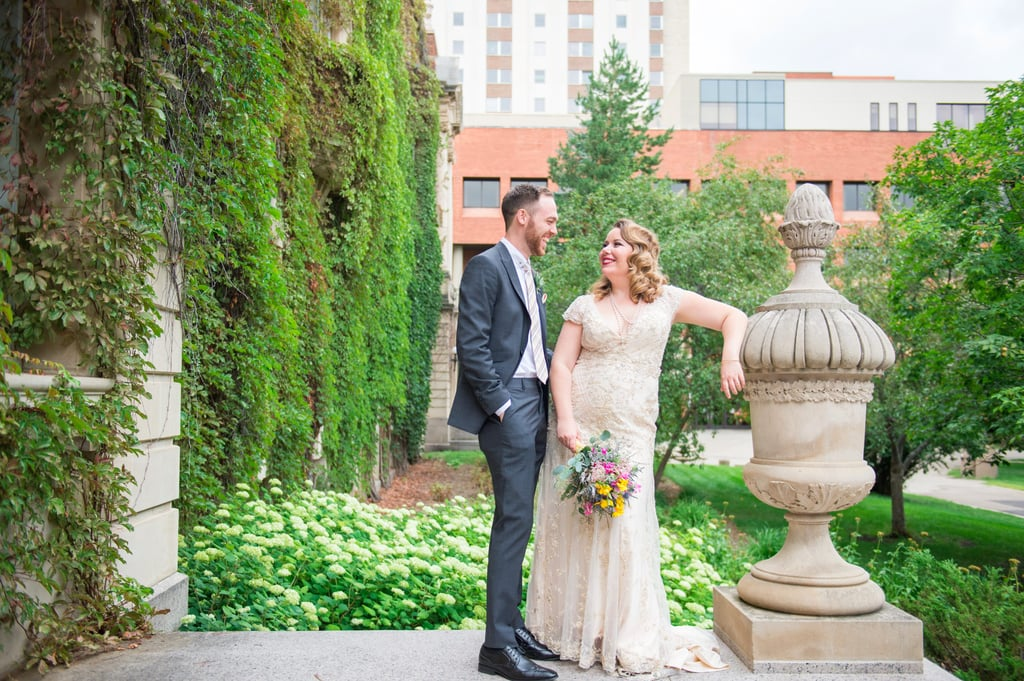 A Glasshouse Restaurant Was Such a Romantic Setting For This Canadian Wedding