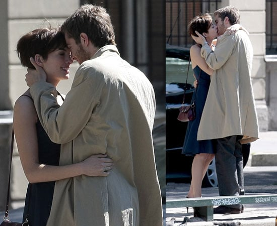Pictures of Anne Hathaway and Jim Sturgess Kissing