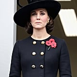 The British Royal Family on Remembrance Day 2017