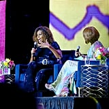 Michelle Obama Ombre Curls at Essence Fest 2019