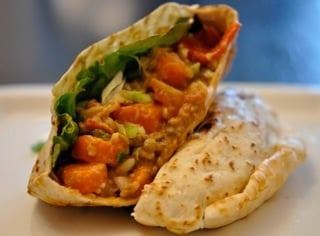 Vegetable Pita Sandwich