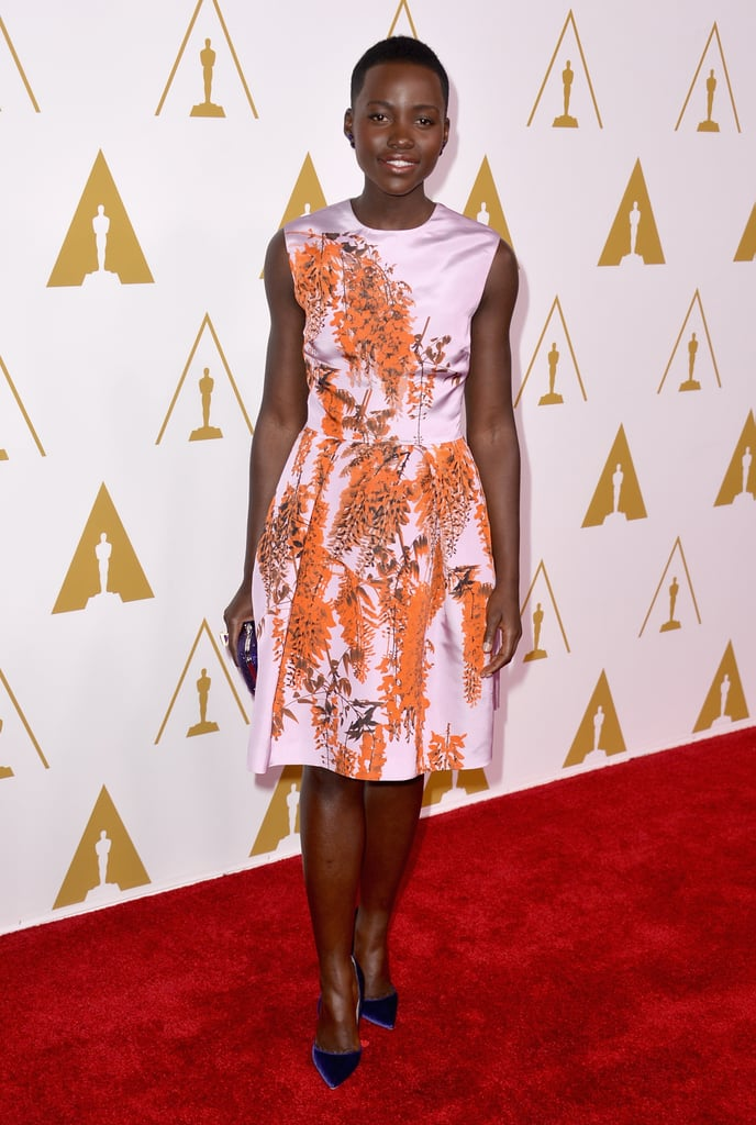 Lupita Nyong'o at the Oscar Luncheon