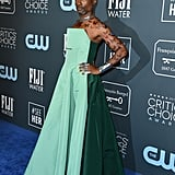 Billy Porter's Green Jumpsuit at the Critics' Choice Awards