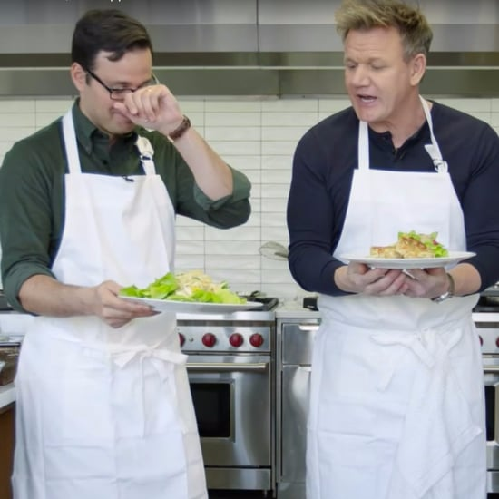 Gordon Ramsay Challenging Amateur Video