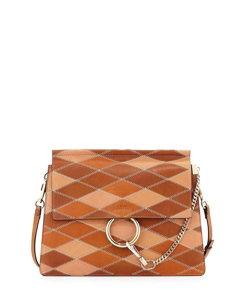 Chloé Faye Patchwork Leather Shoulder Bag ($3,450)