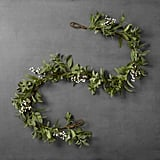 Artificial Lamb Ear and Berry Garland ($20)