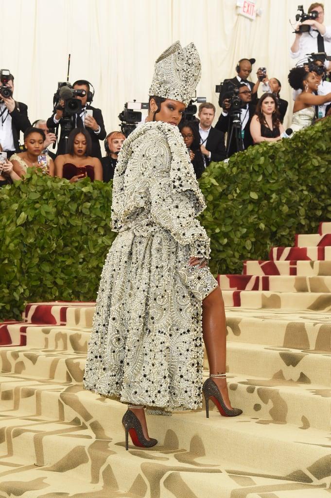 Rihanna at the 2018 Met Gala Photos