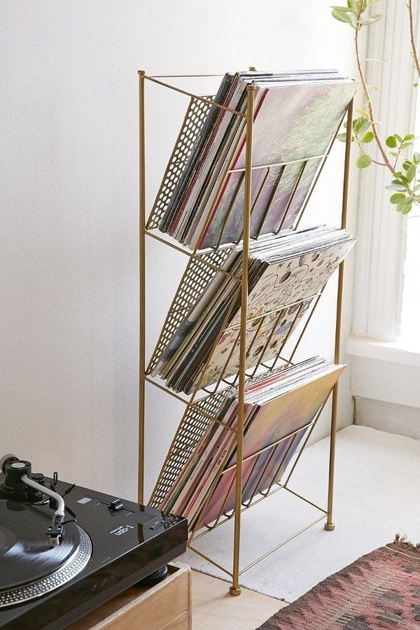 Corner Store Vinyl Storage Rack ($59)