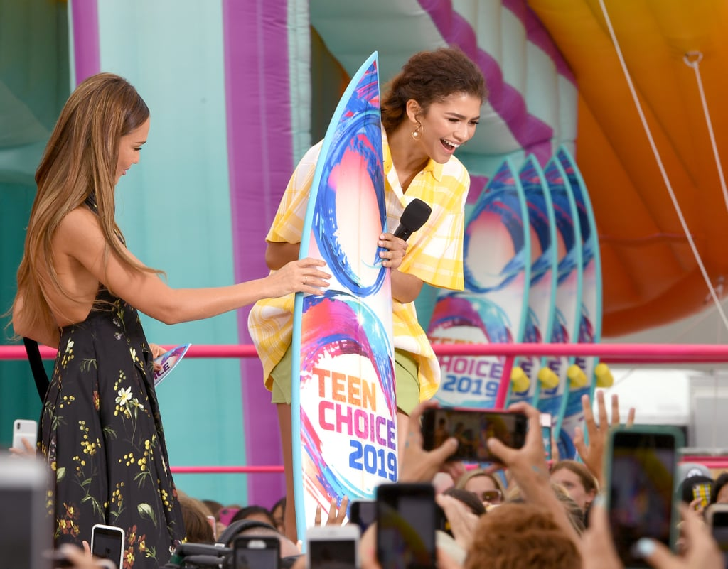 She won the Teen Choice Award for female Summer movie star.