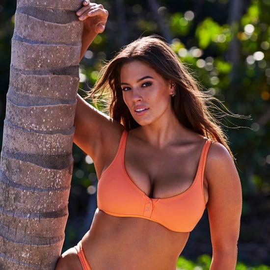 Ashley Graham's Orange Bikini in Sports Illustrated 2018