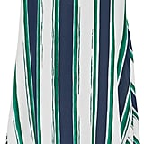 Chloé Asymmetric Striped Silk Midi Skirt ($1,850)