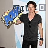 Ian Somerhalder showed up at a Wired event.