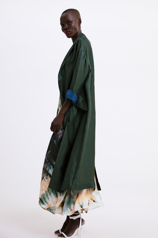 1be7d9f789 Zara Flowy Trench Coat With Pockets | Killing Eve's Style Slays ...