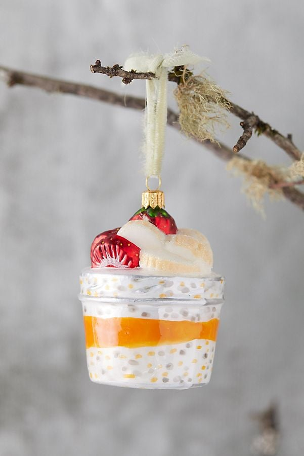 Anthropologie Has an Overnight Oats Ornament and, of Course, We Already Ordered It