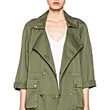 I can never have enough army-green jackets, and now I can add to that list with this Current/Elliott The Infantry jacket ($266), which Gwyneth Paltrow was recently spotted wearing while traveling. I'm particularly drawn to the cropped sleeves and boxy cut. — Melody Nazarian