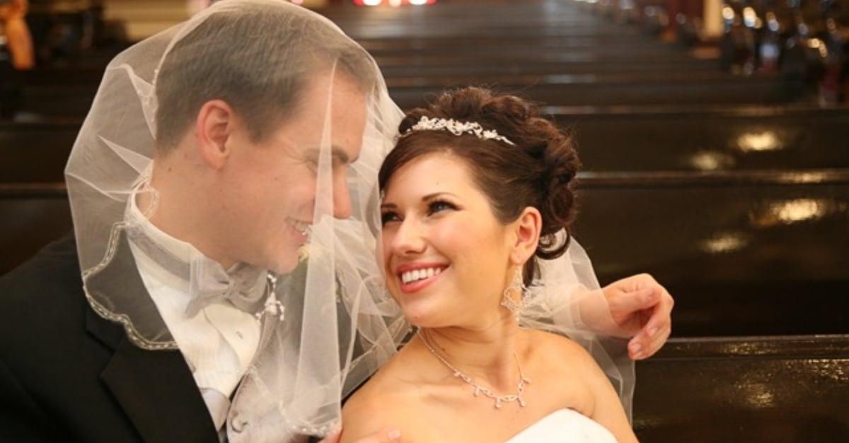 Me On My Wedding Day
