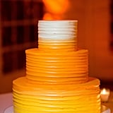 This naked orange ombré cake that looks like candy corn is fun but simple enough.