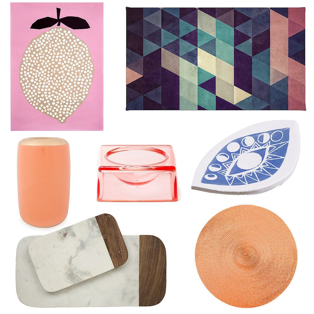 Summer may be over, but that doesn't mean you have to abandon color. This Fall, we're making room for persimmon and bright jewel tones and swapping out eyesores (scruffy dog bowls and old canisters, we're talking to you!) with simple yet stylish replacements. Check out everything the POPSUGAR Home editors are gushing over!