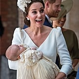 Kate Middleton at Prince Louis's Christening in 2018