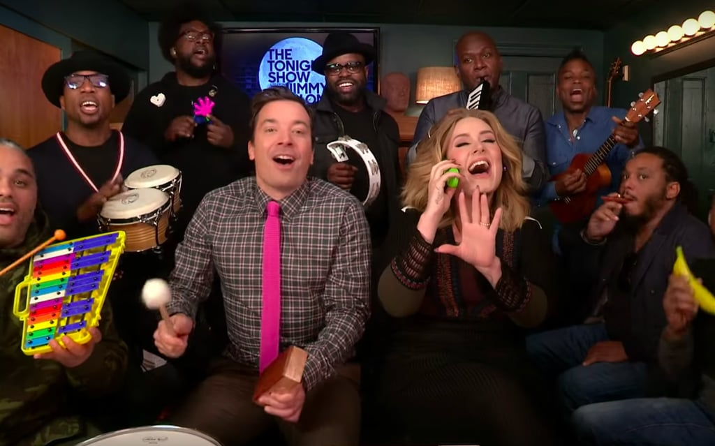 Jimmy Fallon Sings With Classroom Instruments | Videos